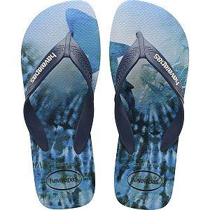 Chinelo Havaianas Masculino Surf 39/0 Azul Indigo Havaianas