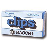 Clips Galvanizado Aço 10/0 500G Bacchi