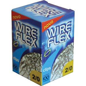 Clips Galvanizado Aço 2/0 100 Unidades Wire Flex