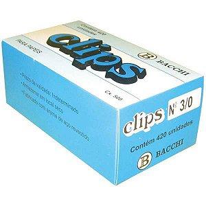 Clips Galvanizado Aço 3/0 500G Bacchi