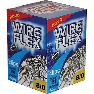 Clips Galvanizado Aço 8/0 500G Wire Flex