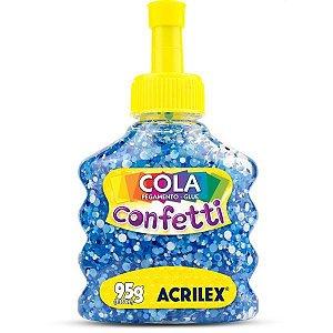 Cola Com Glitter Confetti Ceu Estrelado 95G. Acrilex