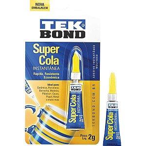 Cola De Alta Resistência Tekbond 2G. Tekbond