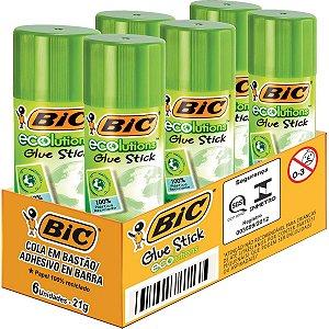 Cola Em Bastao Ecolutions 21G Bic