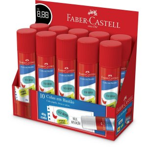 Cola Em Bastao Faber-Castell 40G. Faber-Castell