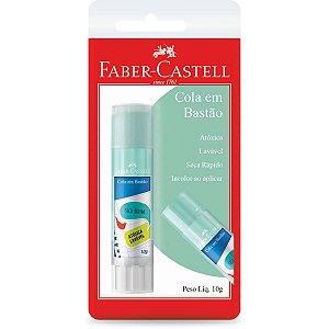 Cola Em Bastao Tons Pastel 10G. Verde Agua Bl Faber-Castell