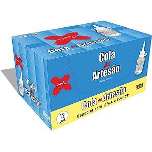 Cola Para Artesanato Artesao Silicone Liquido 100Ml Make+