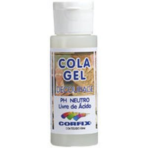 Cola Para Decoupage Cola Gel 60Ml. Corfix