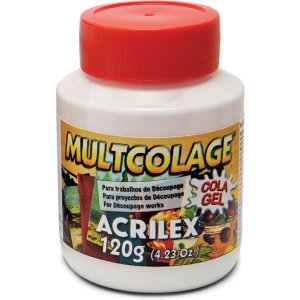Cola Para Decoupage Multcolage 120Ml. Acrilex