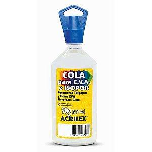 Cola Para Isopor Acrilex Isopor E Eva  90G Acrilex