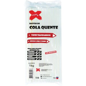 Cola Quente Refil Grossa Super Transp.prof.1K Make+