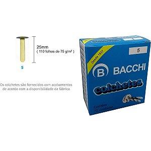 Colchete Latonados N.05 Cx.c/ 72Unid. Bacchi