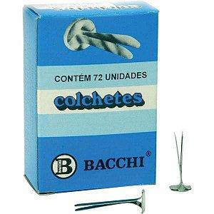 Colchete Latonados N.15 Cx.c/ 72Unid. Bacchi