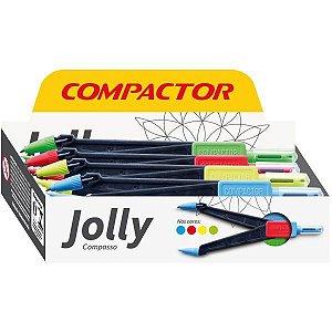 Compasso Jolly Escolar C/cremalheira Compactor
