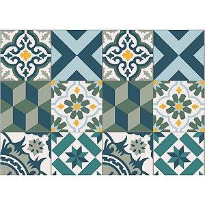 Contact Decorado 45Cmx10M Azulejo Antalya Plastcover