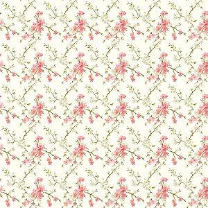 Contact Decorado 45Cmx10M Flor De Cerejeira Plastcover