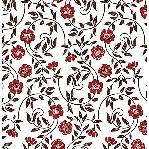 Contact Decorado 45Cmx10M Flower 16 Plastcover