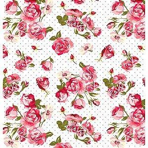 Contact Decorado 45Cmx10M Flower 17 Plastcover
