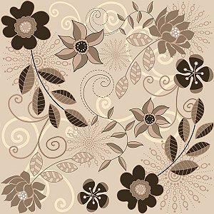 Contact Decorado 45Cmx10M Flower 6 Plastcover