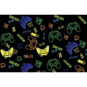 Contact Decorado 45Cmx10M Gamer Plastcover