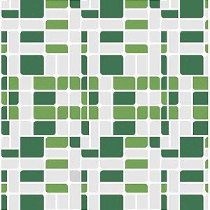 Contact Decorado 45Cmx10M Pastilha 002 Verde Greenery Vulcan