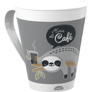 Copo Decorado Caneca Decorada 360Ml Plasutil