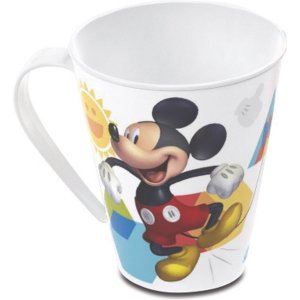 Copo Decorado Mickey Caneca 360Ml. Plasutil