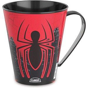 Copo Decorado Spider-Man Caneca 360Ml Plasutil