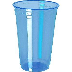 Copo Descartavel 300Ml.abnt Neon Balada Azul Copobras