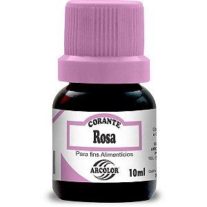 Corante Liquido Rosa 10Ml. Arcolor