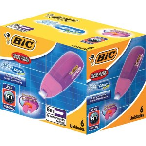 Corretivo Em Fita Micro Tape Twist 8M Bic