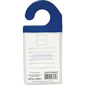 Cracha Automotivo C/gancho Azul 9 X 13 Cm. Romitec