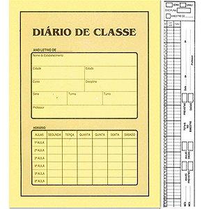 Diario De Classe Bimestral 8 Fls  Amarelo São Domingos