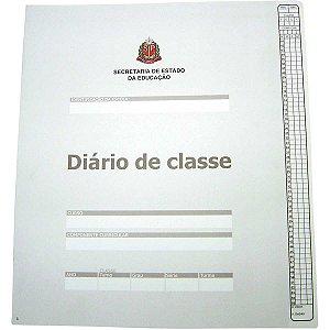Diario De Classe Bimestral Estado São Paulo 8Fl Tamoio
