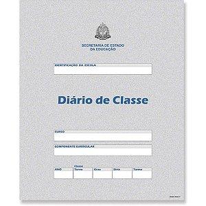 Diario De Classe Bimestral Estado São Paulo 8Fl Unica Grafica