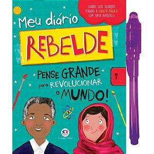 Diario Rebelde C/caneta Mágica Ciranda