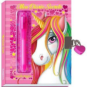 Diario Secreto Unicornio 96Pg Rosa Vale Das Letras