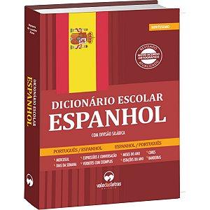 Dicionario Espanhol Espanhol/port. Escolar 480Pgs Vale Das Letras