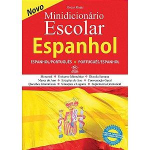 Dicionario Espanhol Espanhol/port.escolar 448Pg Dcl