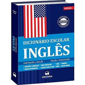 Dicionario Ingles Ingles/ Portugues Escolar 480P Vale Das Letras