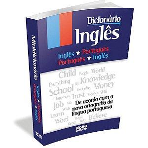 Dicionario Mini Ingles Ingles/portugues 368Pag. Bicho Esperto
