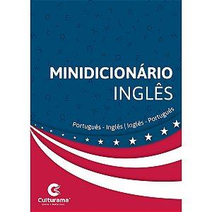 Dicionario Mini Ingles Port-Ing/ Ing-Port 352Pgs Culturama