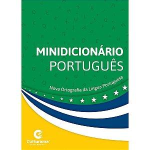 Dicionario Mini Portugues Nova Ortografia 352Pgs Culturama
