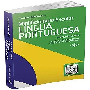 Dicionario Portugues Escolar 30Mil Verbetes 608Pgs Dcl