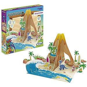 Dinossauro Playset Ilha Dos Fofossauros Xalingo