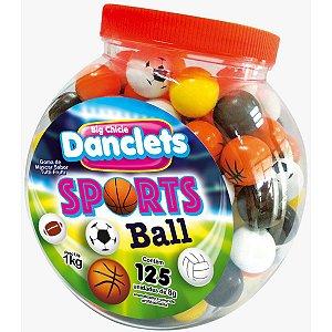 Doce Danclets Sports Balls Danilla Foods Brasil