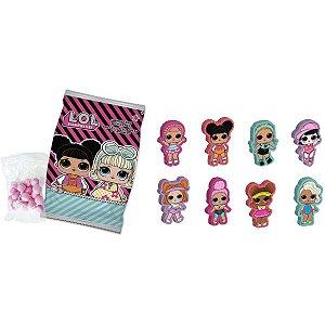 Doce Lol Mini Emb. Clipstrip Bazooka Candy