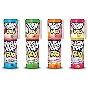 Doce Push Pop Duo Torre Bazooka Candy