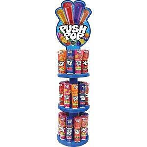 Doce Push Pop Tradicional Torre Bazooka Candy