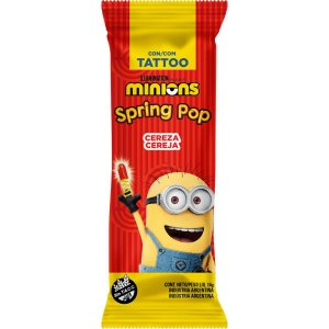 Doce Spring Pop Minions Sortidos Bazooka Candy